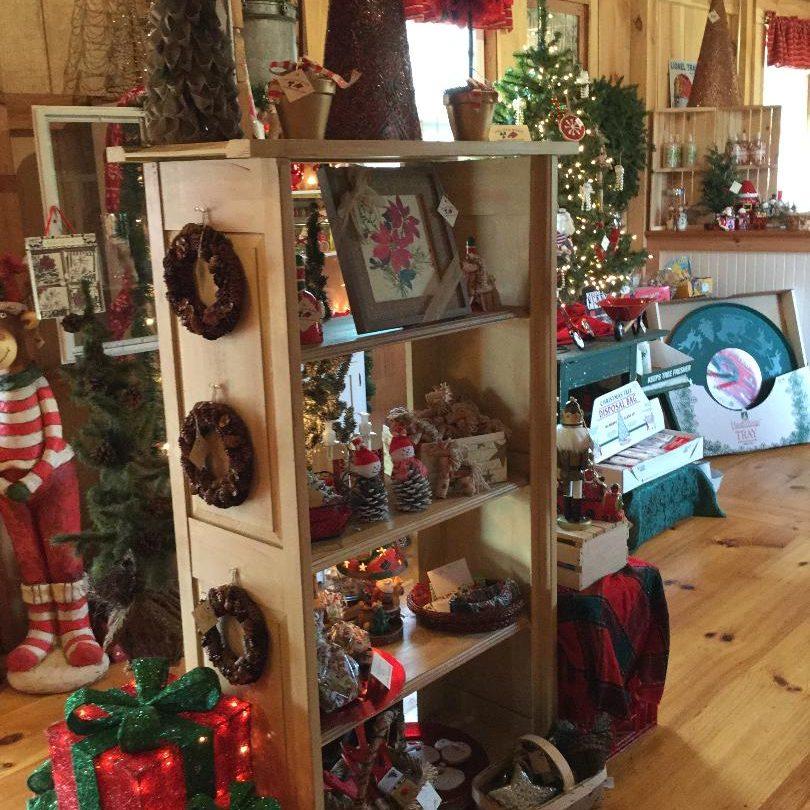 old barn christmas shop